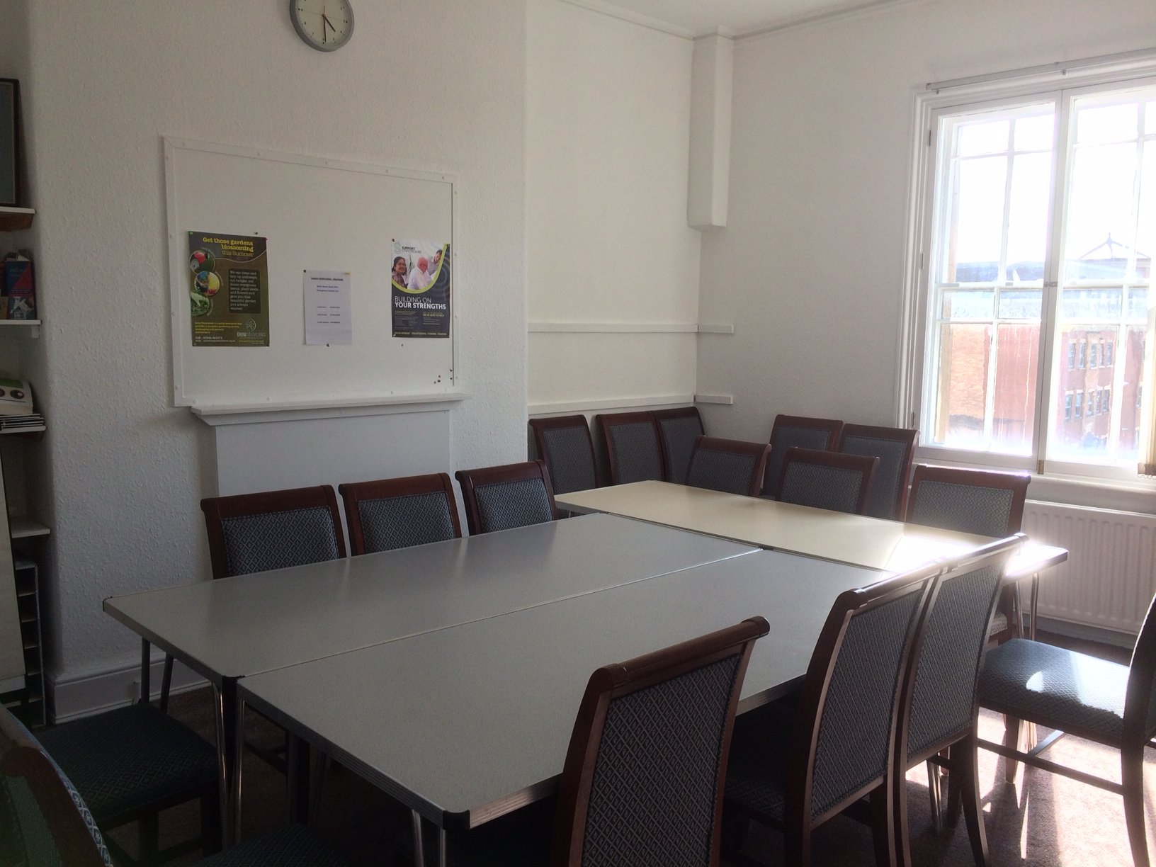 Support Staffordshire Bank House meeting room hire in Leek