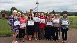 Photo of Support Staffordshire staff who trained as Dementia Friends