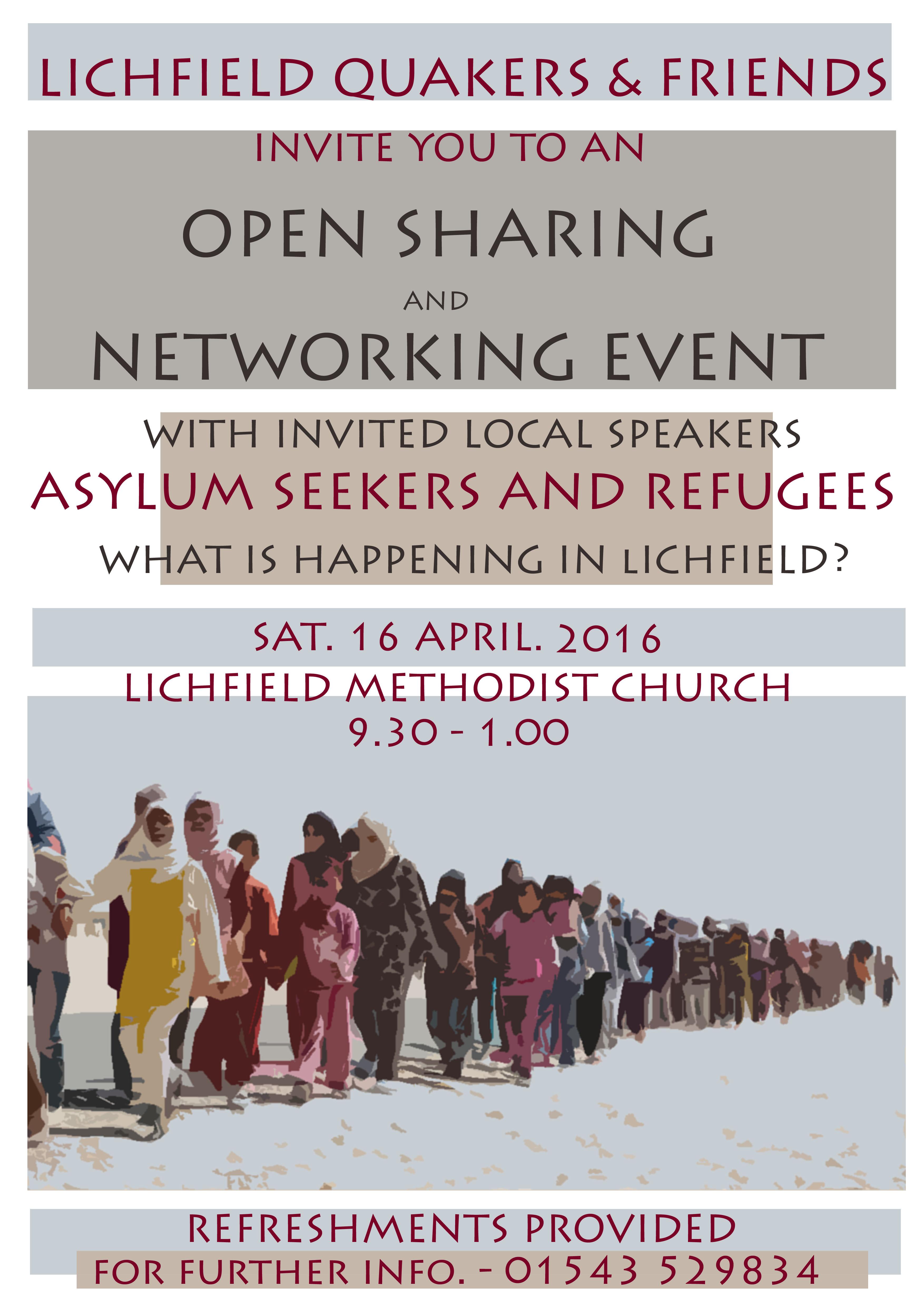 Asylum Support poster