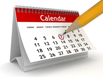 Drawing of a calendar