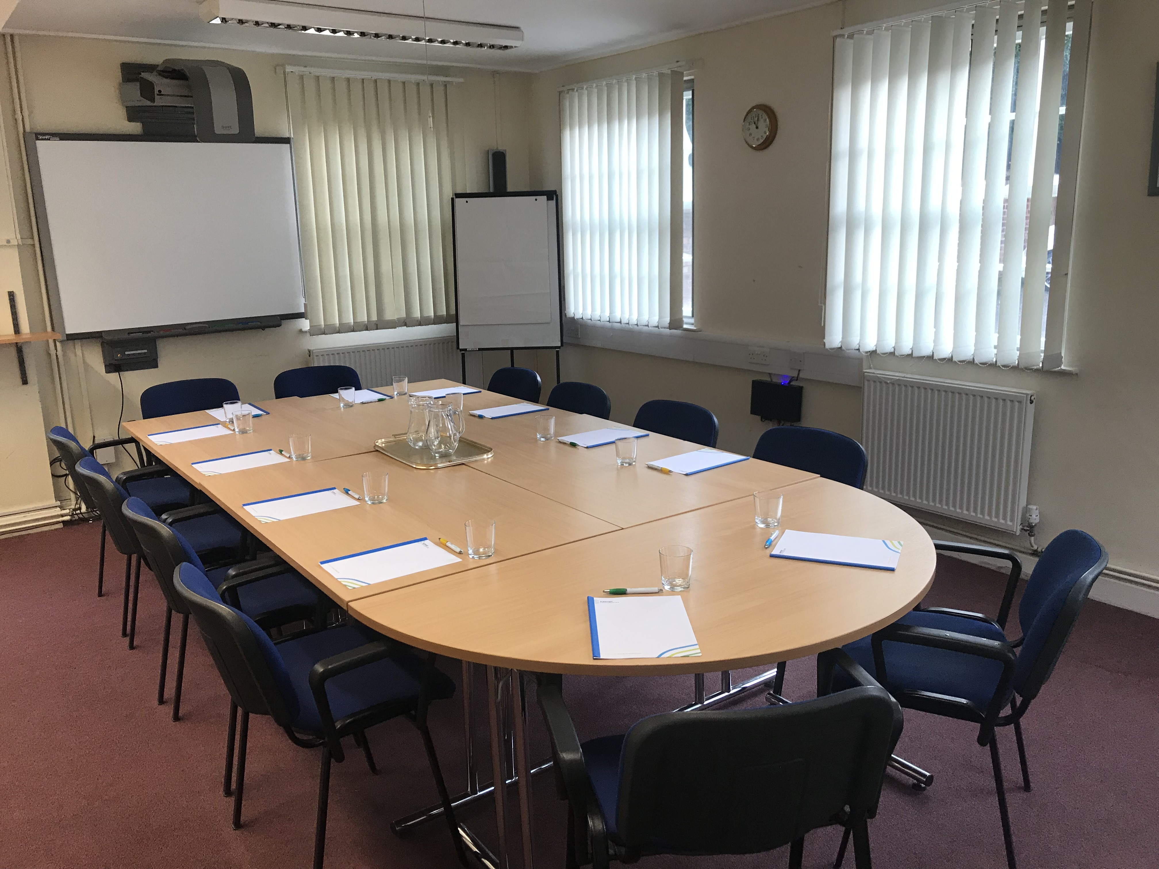 Meet Room for Hire at Mansell House in Lichfield town centre