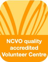 NCVO Accredited Volunteer Centre logo