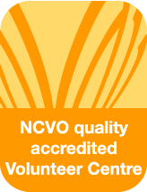 NCVO Accredited Volunteer Centre logo