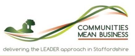 Staffordshire LEADER logo