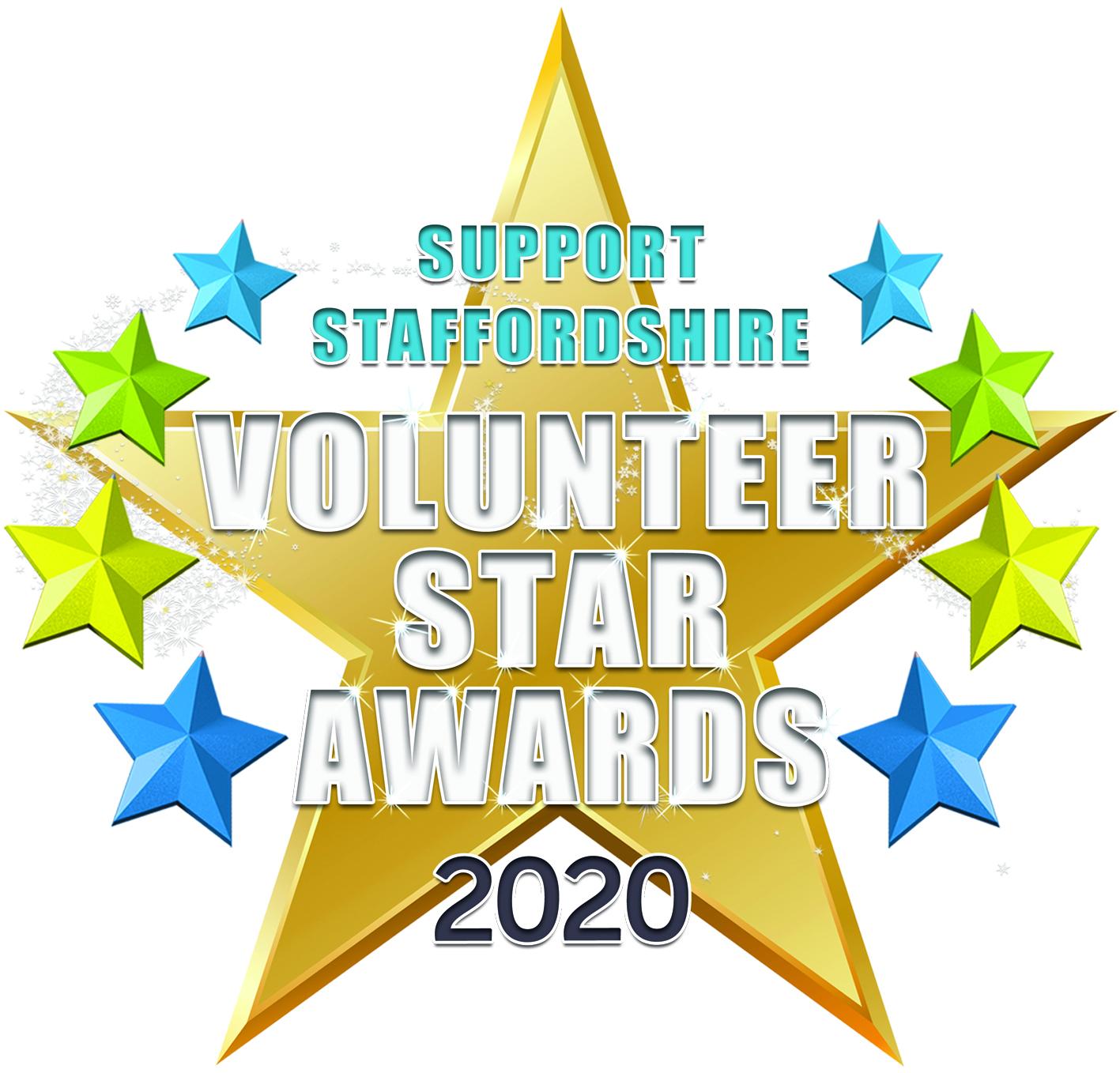 Support Staffordshire Volunteer Star Awards 2020