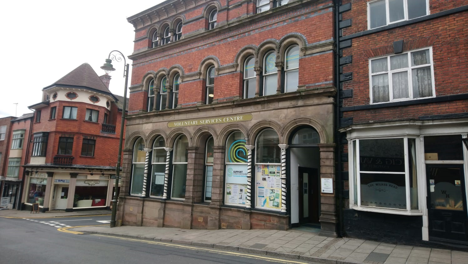 Support Staffordshire Bank House in Leek