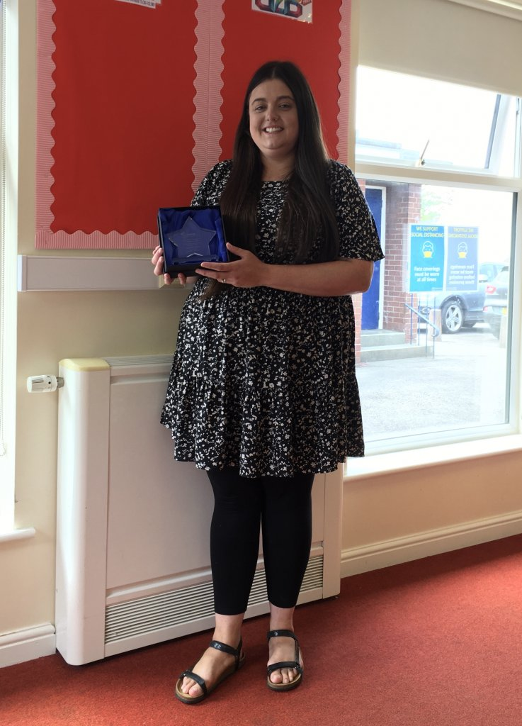 <strong>2021 WINNER of the Newcastle-under-Lyme Volunteering Support for Young People Award</strong> sponsored by Synectics Solutions.