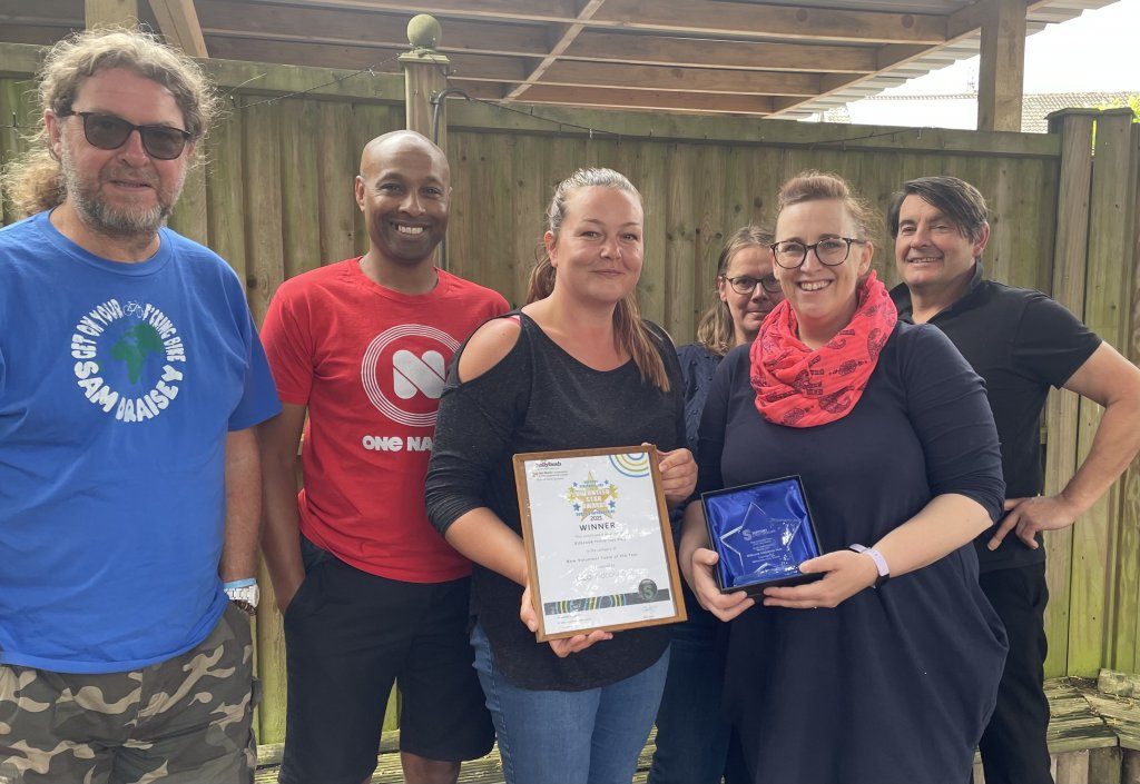 <strong>2021 WINNER of the South Staffordshire New Volunteer Team of the Year Award</strong> sponsored by Mid Counties Coop.