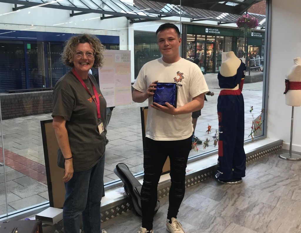 <strong>2021 WINNER of the Lichfield and District Young Volunteer of the Year Award </strong>sponsored by Richard Winterton Auctioneers.