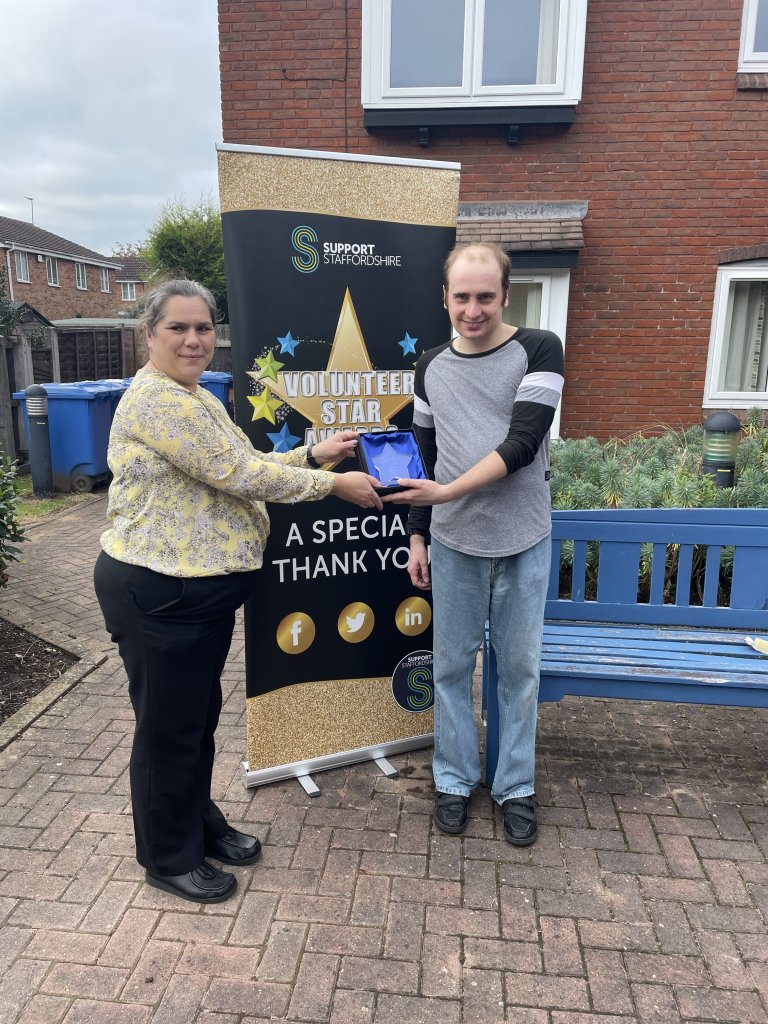 """WINNER of the South Staffordshire Personal Achievement Award sponsored by <a href=""""https://www.treetopsdentalsurgery.co.uk/"""">Treetops Dental Surgery</a>."""