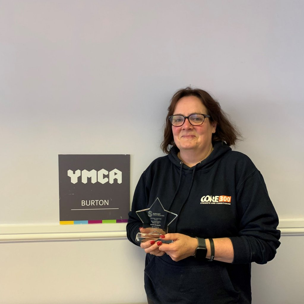 <strong>2021 WINNER of teh East Staffordshire Volunteer of the Year Award </strong>sponsored by Burton Albion.