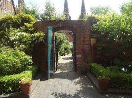 Erasmus Darwin Herb Garden