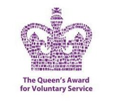The Queen's Award for Voluntary Service Logo