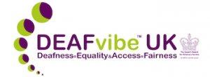 Deaf Vibe UK logo