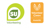 KeeleSU Volunteering Logo and VCQA Logo