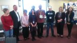 Photo of Healthwatch Staffordshire with IiV award