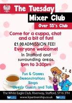 Mixer Club Flyer